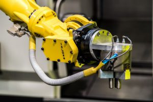 An automated robot arm