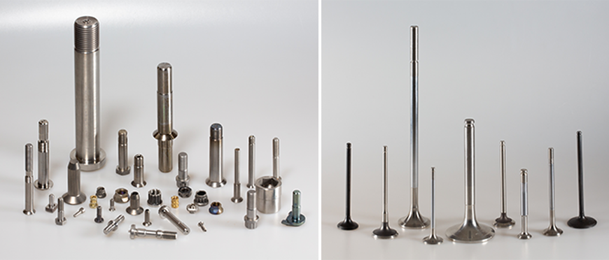 A collection of fastener valves which were manufactured by Earlsdon Technology
