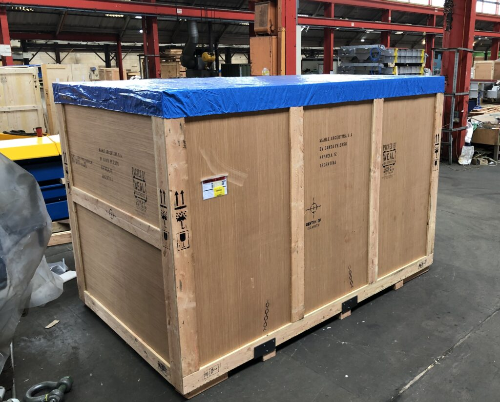 VSG-X6 Valve Seat Grinding Machine ready to be shipped to Argentina.